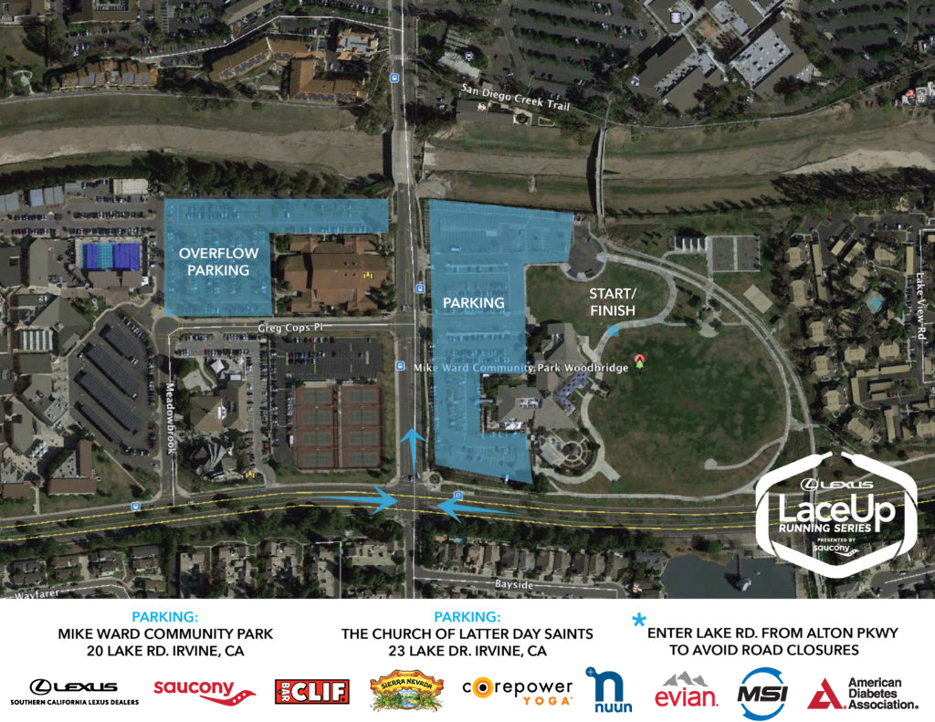 Orange County Parking Map