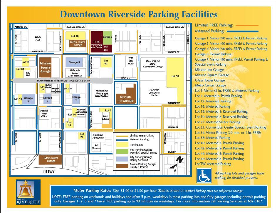 Parking Map Riverside
