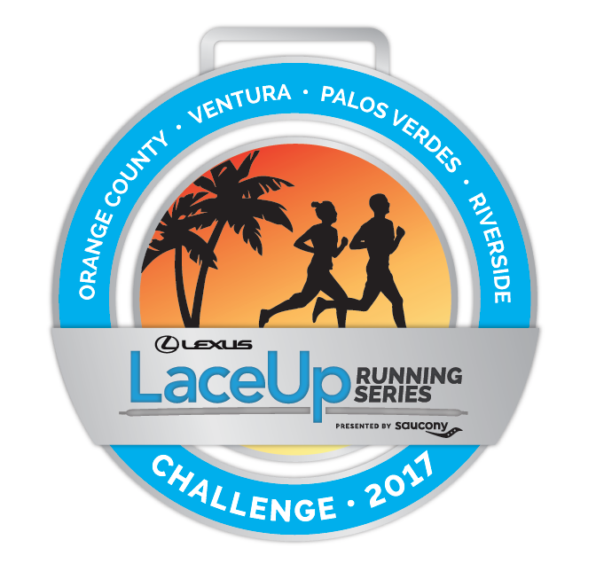 LaceUp Challenge Medal