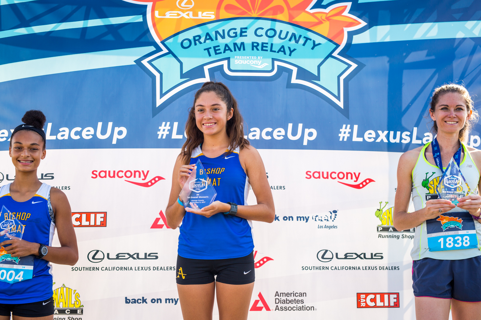 LaceUp Orange County Results